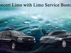 Concert Limo with Limo Service Boston